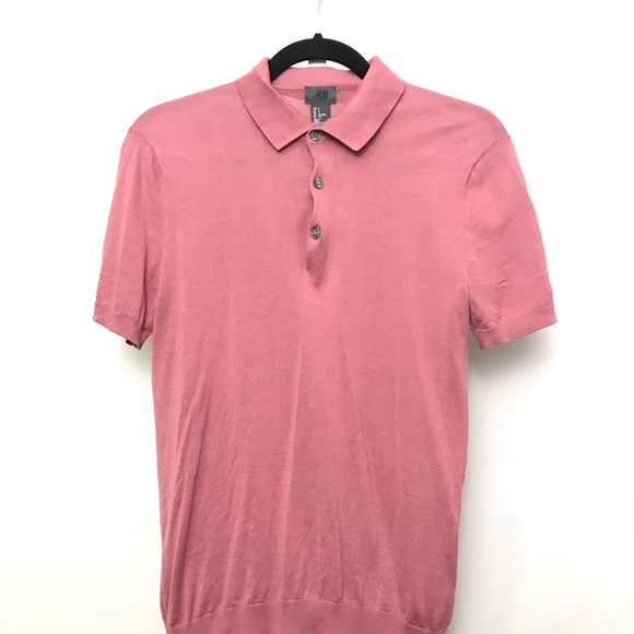 H&M Other - H&M men's polo shirt pink size small